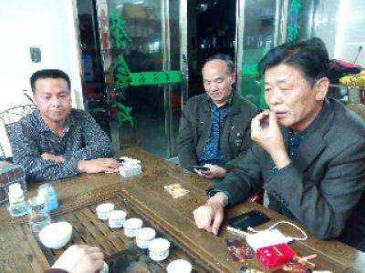 福建省颜氏文化研究会财务总监等一行安..